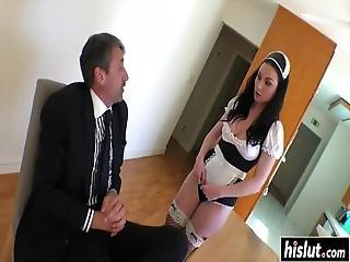 anal, rompe, brunette, cumshot, facial, fetish, knulling, kåt, overrasket