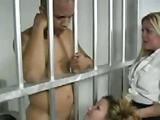 πίπα, Cfnm, χύσιμο, Facial, σκληρό, Inmate, φυλακή
