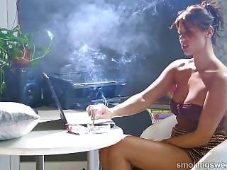 Brunety, Kouření