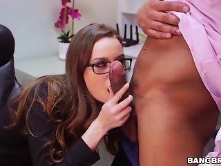 Au Travail, Bonasse, Bite, Hardcore, Interracial, Star Du Porno, Au Travail