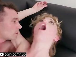Bang Casting: Teen Chloe Couture Gets Spanked By Daddy
