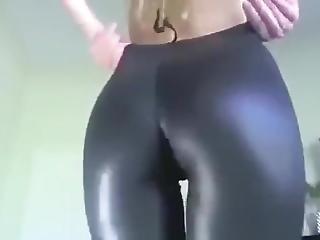 Hot Blonde Ass Tease