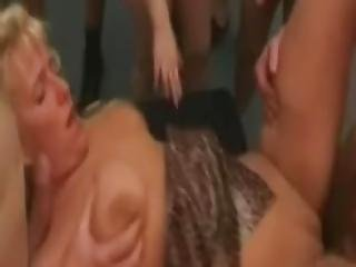 Amateur Milf Gangbang With Huge Facial Shots