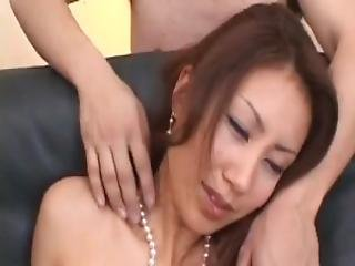 Nana Nanami Asian Gets Many Vibrators On Body From Masked Fellows