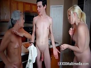 Taboo Family Threesome - Frozen Fuck Dolls