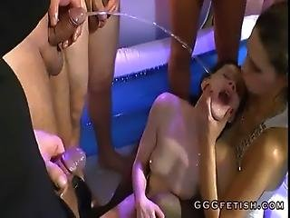 Blowjob, Deepthroat, Fetish, Gangbang, German, Golden Shower, Groupsex, Oral, Orgy, Piss, Pissing, Sex, Shower