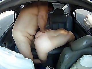 Back Seat Passenger Doggie Style