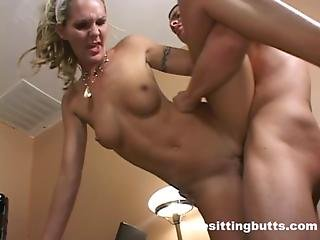 Stud Fucks His Way Out Of Getting Laid Off