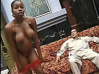 Pregnant Black Babe Rides Dick And Plays With Pussy And Clit
