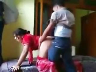 Hot Indian Aunty Fuck In Her Room
