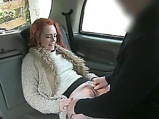 Amateur, Babe, Blowjob, Cumshot, Cute, Public, Reality, Redhead, Sex, Taxi