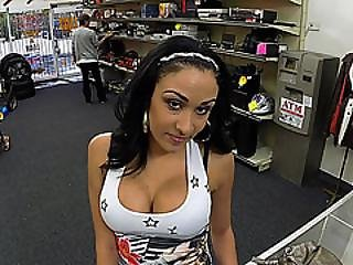 Big Tits Latina Goes In Shawns Store And Wants To Sell Stolen Phones