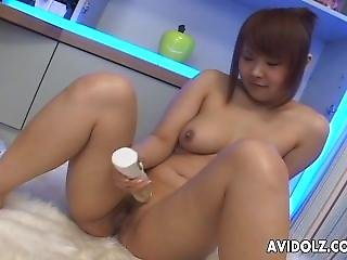 Lorita Is A Cute Asian Teen Toy Fucking Her Cunt