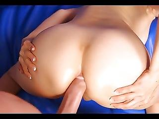 Old Dirty Talking Slut Gets Young Cock In Her Ass