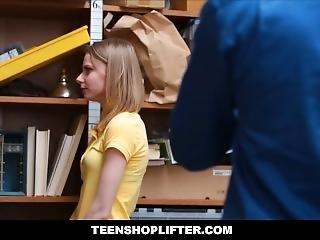 Tiny Teen Catarina Petrov Caught Shoplifting Then Punish Fucked