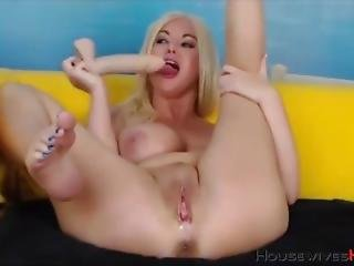 Brud, Blondin, Camtjej, Onani, Milf, Webcam