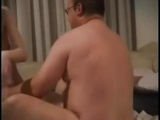 Mature Fat Guy And Young Girl Have Powerful Sex