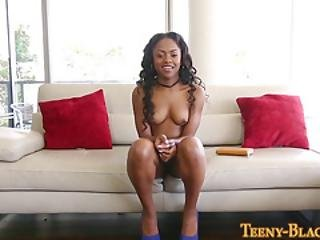 Black Teen Booty Spermed