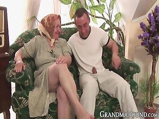 Mature Lady Bounces On Younger Cock For Messy Facial! Her Dick Pleasuring Skills Will Put Many Young Babes To Shame!