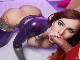 Vrcosplayx.com Xxx Redheads Compilation In Pov Virtual Reality Part 2
