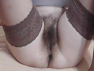 Mature Mom With Hairy Cunt Close Up