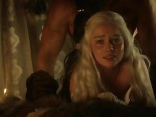 Emilia Clarke Nude Sex Scenes From Game Of Thrones