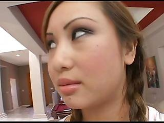 Asian Love Doll Pussy Double Cock Fun For Asian Teen Cunt