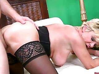 Granny Milf Bangs Her Sexy Stud