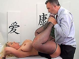 Busty Ryan Conner Sucks And Fucks Cock In The Office