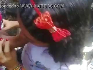 Brazilian Teen Suck Cock Like A Lollipop