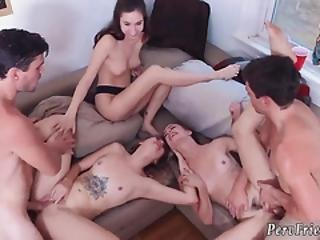 Girls Pee Orgy Dorm Party