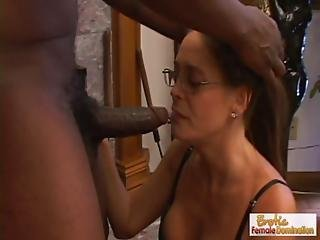 Black, Deepthroat, Domination, Femdom, Glasses, House, Housewife, Mature, Milf, Old, Sexy, Wife