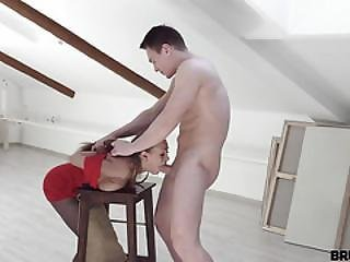 Brutal X - Model Fucks His Bitchy Painter
