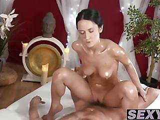 Hot And Busty Angie Moon Getting Pussy Pounded Hard