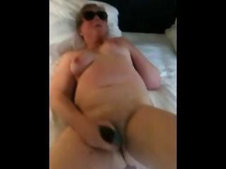Granny Takes Thick 10 Inch Jelly Vib