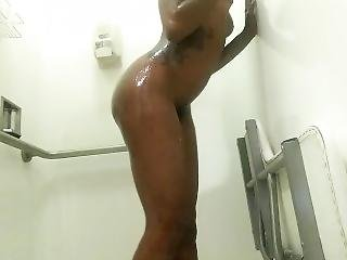 Ebony Showing Off Ass