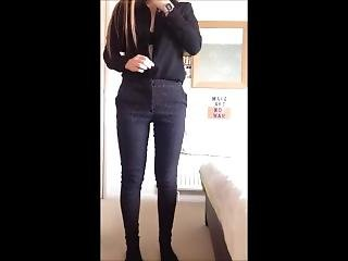 Hot Sexy Girl Strips On Camera