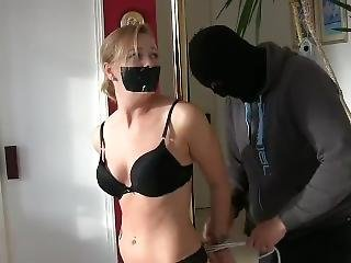 Lucy Meets The Masked Intruder