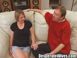 Slut Wife Sally Gets Trained To Share All 3 Of Her Fuck Holes