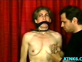 Babe Bound And Gagged