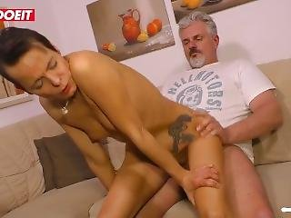 Dirty German Wife Cheats Her Husband With His Best Friend #letsdoeit