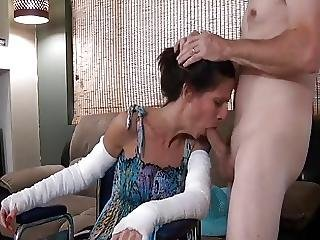 Horny Son Fucks Not Real Mother In Wheelchair?from=video Promo