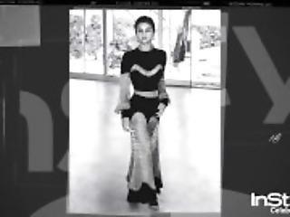 Selena Gomez See Through And Wet Bikini Video