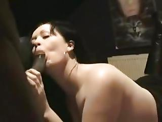 Wife Gets Her First Bbc While Hubby Films And Helps Out