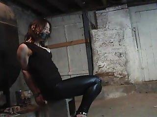 Kali Chained To Block