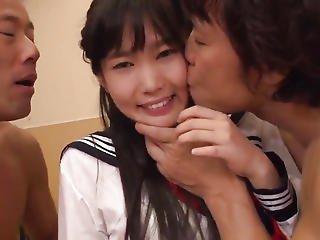 Yui Kasugano Tries Wang In The Classroom