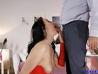 Brit Stockings Milf Assfucked Before Creampie
