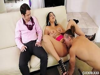 Violet Starr Fucks Her Cucked Husband%27s Brother And His Big Cock