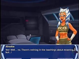 Star Wars Orange Trainer Part 20 Cosplay Bang Hot Xxx