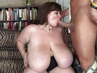 Amateur Bbw With Enormous Tits Gets Fucked Hard
